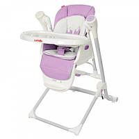*Стульчик для кормления - шезлонг - качалка 3 в 1 Carrello Triumph Purple арт. 10302