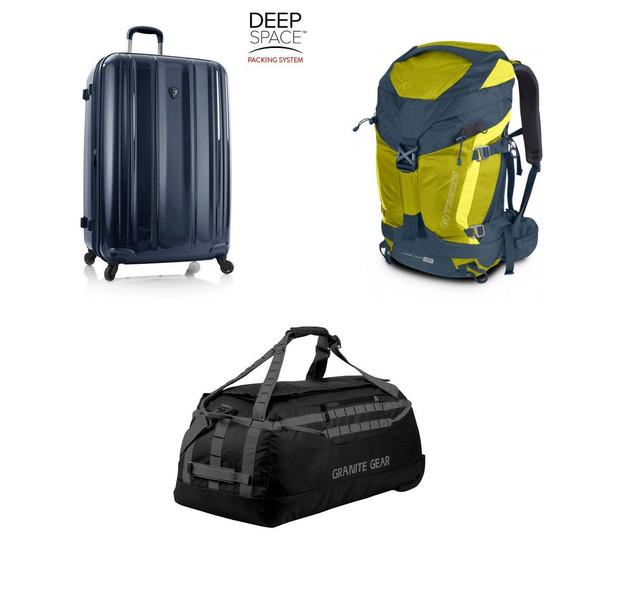 Чемоданы, рюкзаки, сумки.