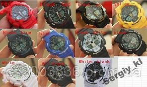 11 цветов Спортивные Часы Casio G-Shock GA100 2014 года, КАЧЕСТВО!