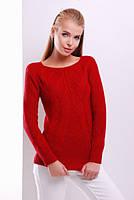 Женский теплый вязанный свитер 16 (8 цветов), женский свитер под горло