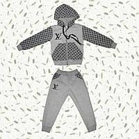 Теплый спортивный костюм для девочек