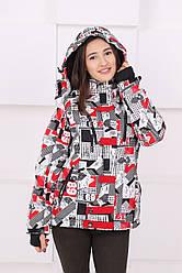 Женская лыжная сноубордическая куртка