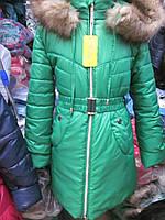 Пальто для девочек  р 134-152