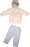 Костюм спортивный для девочки хлопковый,размер 80,86