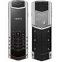 Vertu Signature S Design Silver ALLIGATOR