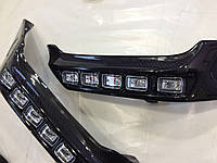 Накладки переднего бампера Mercedes G-class W463 Brabus карбоновые