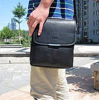 Стильная мужская сумка POLO, сумка через плечо, смотрите видеообзор!