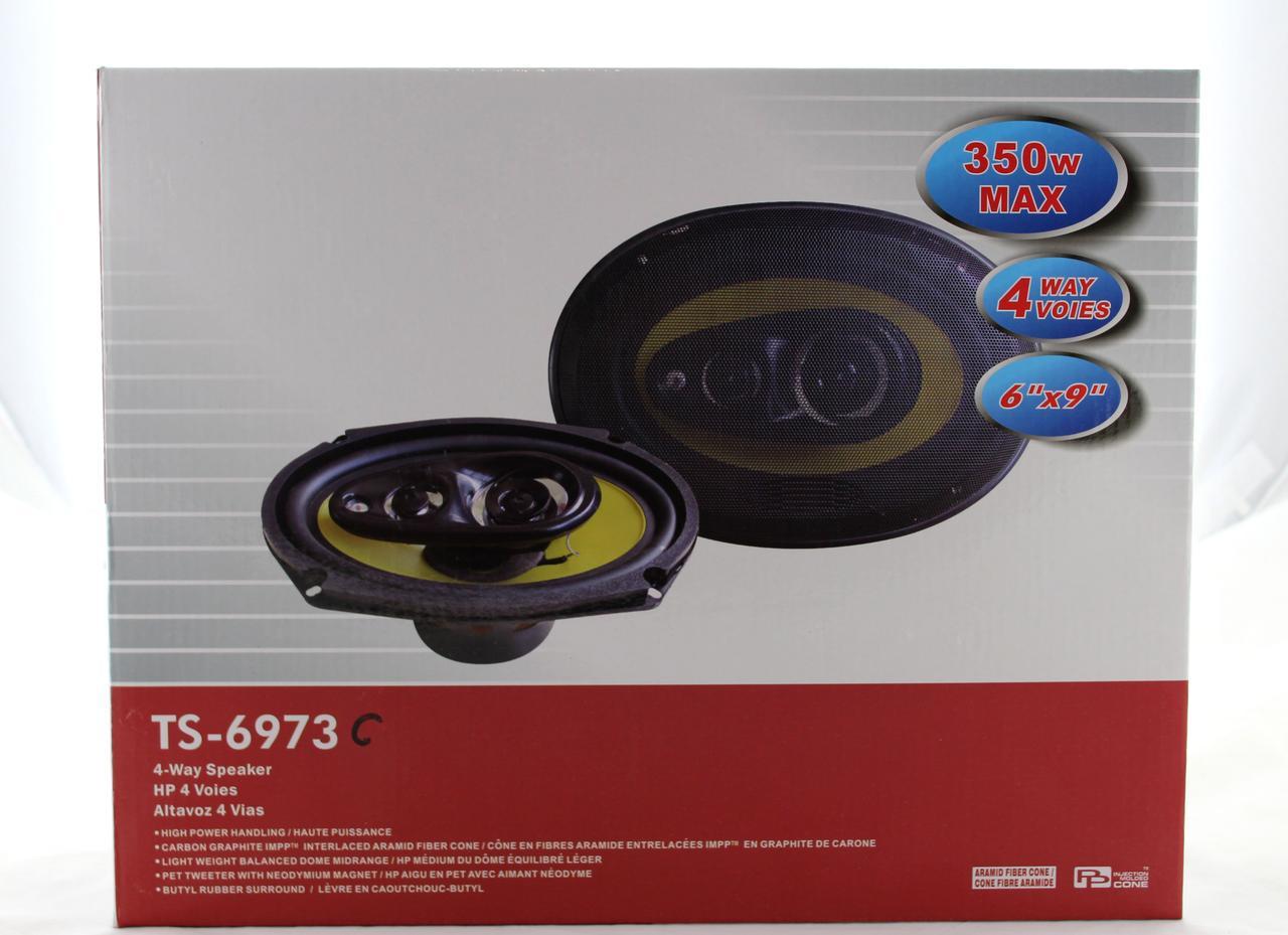 Автоколонки TS 6973С  max 350w (Только ящиком!!!) (6)  в уп. 6шт.