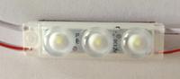 Светодиодный модуль с линзой 3 LED SMD2835 IP65 5000-5500К
