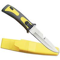 Нож для дайвинга. Стропорез, серейторная насечка., фото 1