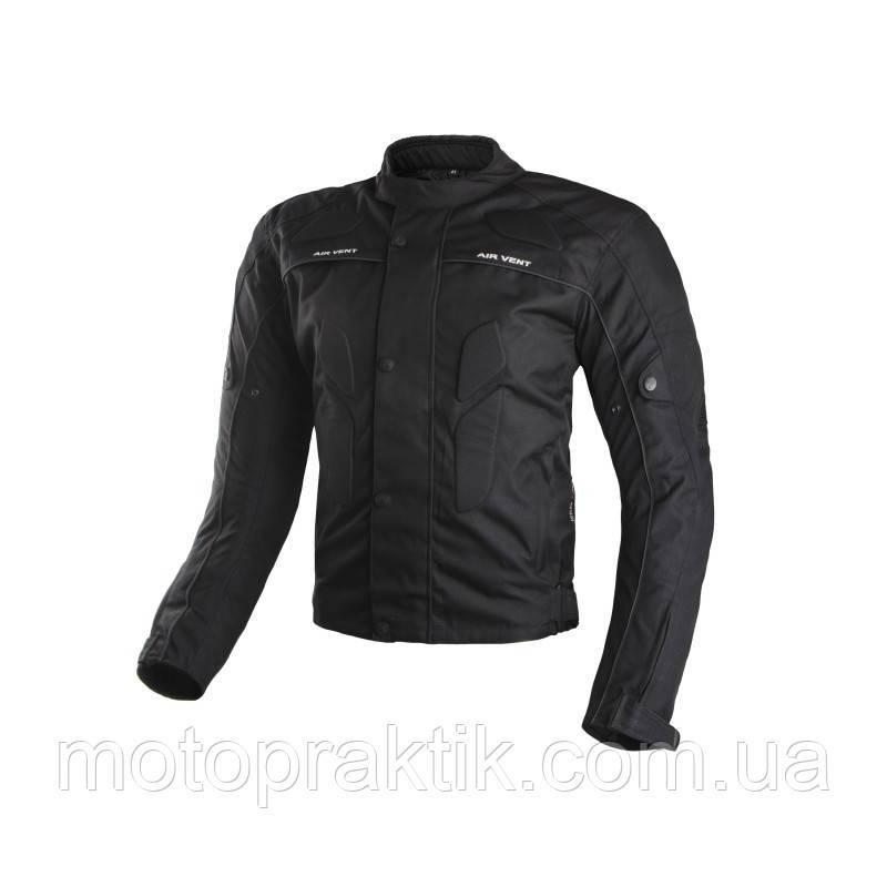 Adrenaline Pyramid Jacket Black, XS Мотокуртка текстильная с защитой