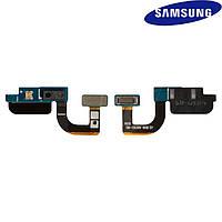 Шлейф для Samsung Galaxy S7 G930F, c датчиком приближения, с компонентами, оригинал