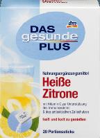 Горячий напиток (БАД) Das gesunde Plus Vitamin C & Zink, 20 шт.