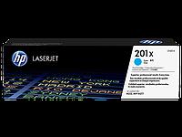 Картридж HP CLJ 201X Cyan (CF401X)
