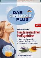 Горячий напиток от простуди и кашля Das gesunde Plus, 20 шт.