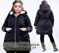 Куртка трансформер из плащёвки Аляска