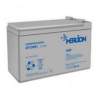 Аккумуляторная батарея MERLION AGM GP1290F2 12 V 9 Ah ( 151 x 65 x 101 ) White Q10