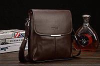 Стильная мужская сумка POLO, сумка через плечо, смотрите видеообзор