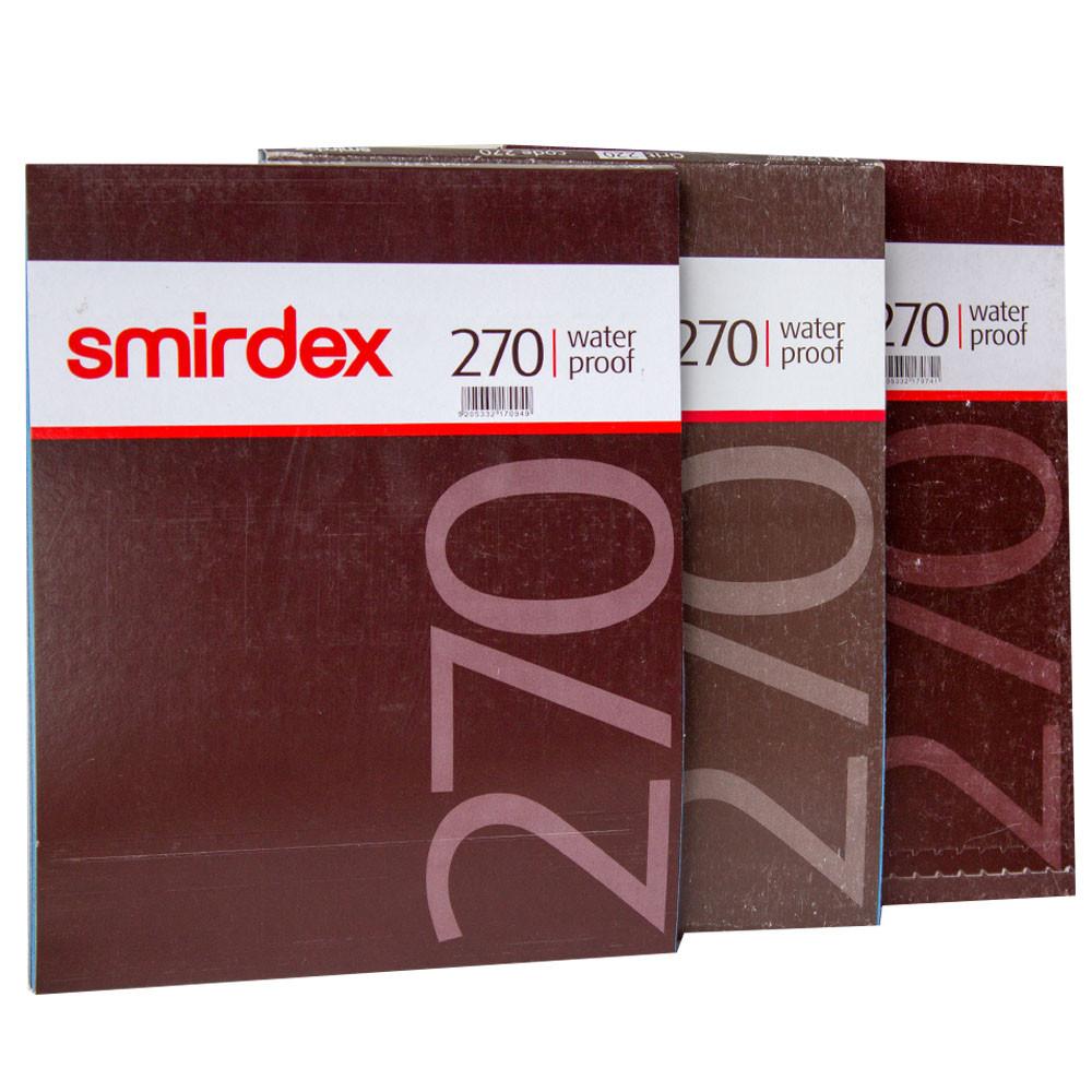 Наждачная бумага водостойкая SMIRDEX 230 x 280 мм P120