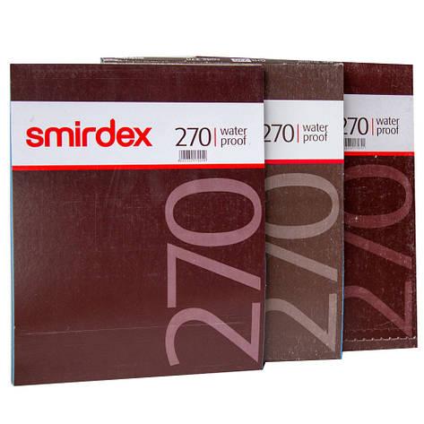 Наждачная бумага водостойкая SMIRDEX 230 x 280 мм P120, фото 2