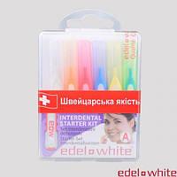 Щітки «Profi-Line» для міжзубних проміжків EDEL + WHITE ® , 6 шт.