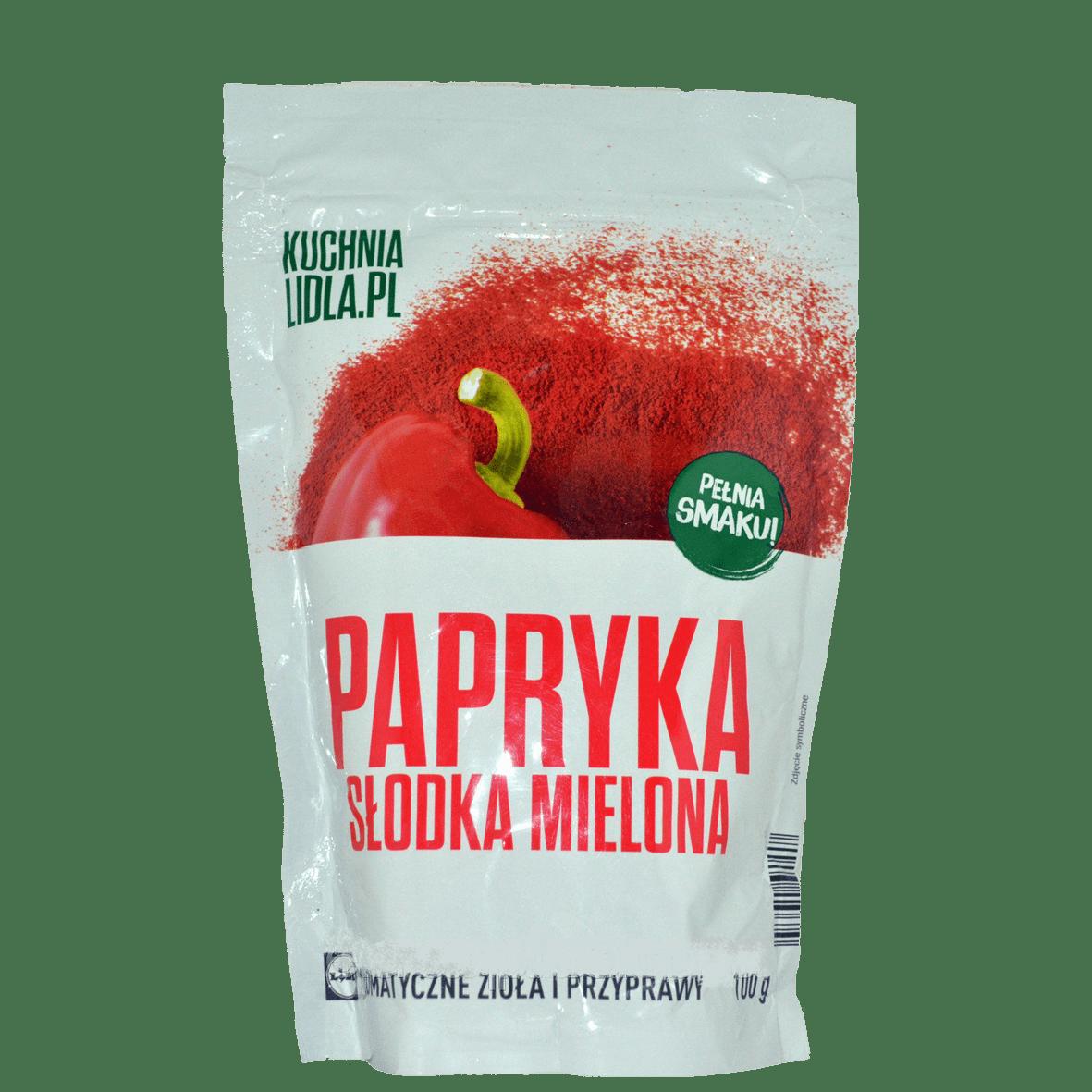 Приправа Kuchnia Lidla.pl Papryka slodka mielona 100g