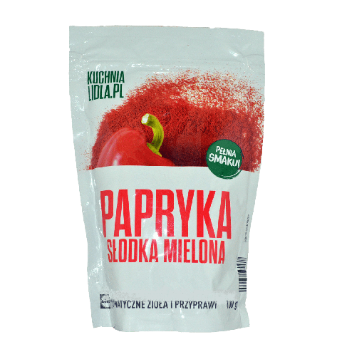 Приправа Kuchnia Lidla.pl Papryka slodka mielona 100g, фото 2