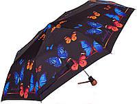 Красивый зонт для женщин полуавтомат антиветерAIRTON (АЭРТОН) Z3635-5, черный