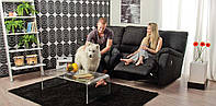 Прямой диван Saratoga с реклайнером для гостиной или кабинета