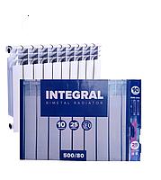 Биметаллический радиатор отопления Integral 500х800