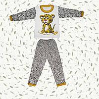 Детская теплая пижама Лео