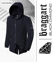 Braggart 'Black Diamond' 4050 | Мужская зимняя парка черная