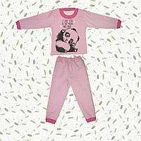 Детская теплая пижама Пандочка