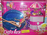 Кукла defa с бассейном