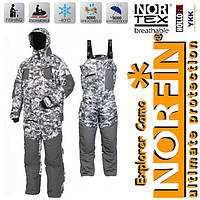 Зимний мужской костюм до - 40С Norfin Explorer Camo