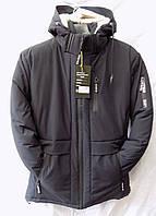 Мужская куртка зима на флисе 082