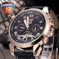 Механические часы с автоподзаводом Jaragar (black-bronze)