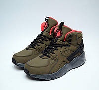 Зимние кроссовки мужские Huarache Winter Shoes Khaki