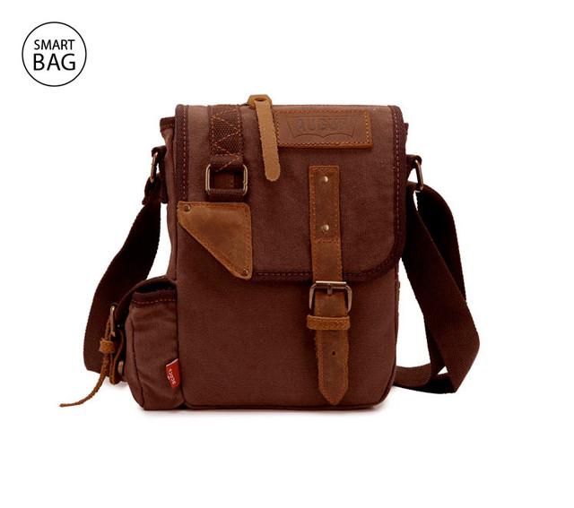 Мужская сумка на плечо Augur | коричневая