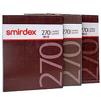 Наждачная бумага водостойкая 230х280мм SMIRDEX