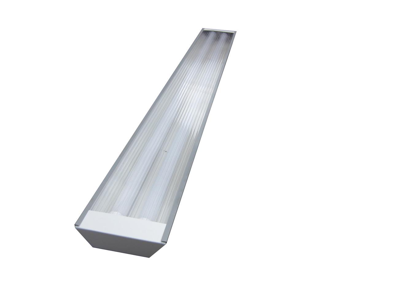 Светильник под LED лампу трассовый 2х1200мм CТ - 02