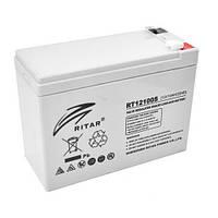Аккумуляторная батарея AGM RITAR RT12100S, Gray Case, 12V 10.0Ah  (151х65х117 мм) Q10