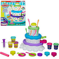 Игровой набор с пластилином Play-Doh «Праздничный торт» A7401 Hasbro