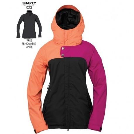 686 куртка Authentic Smarty Path W 2015