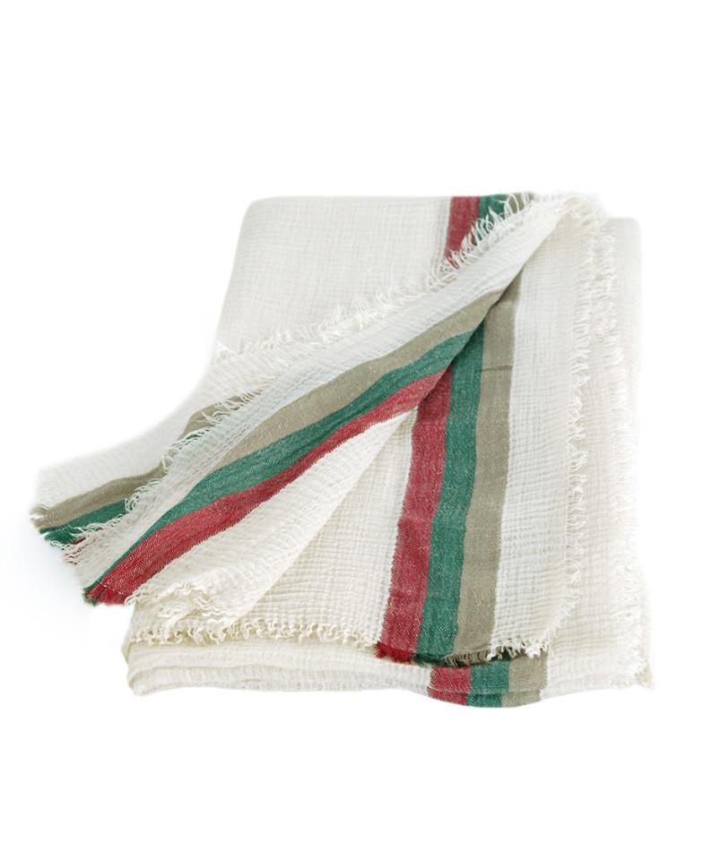 Очаровательная женская шаль-парео Trаum 2498-80, цвет бежевый.