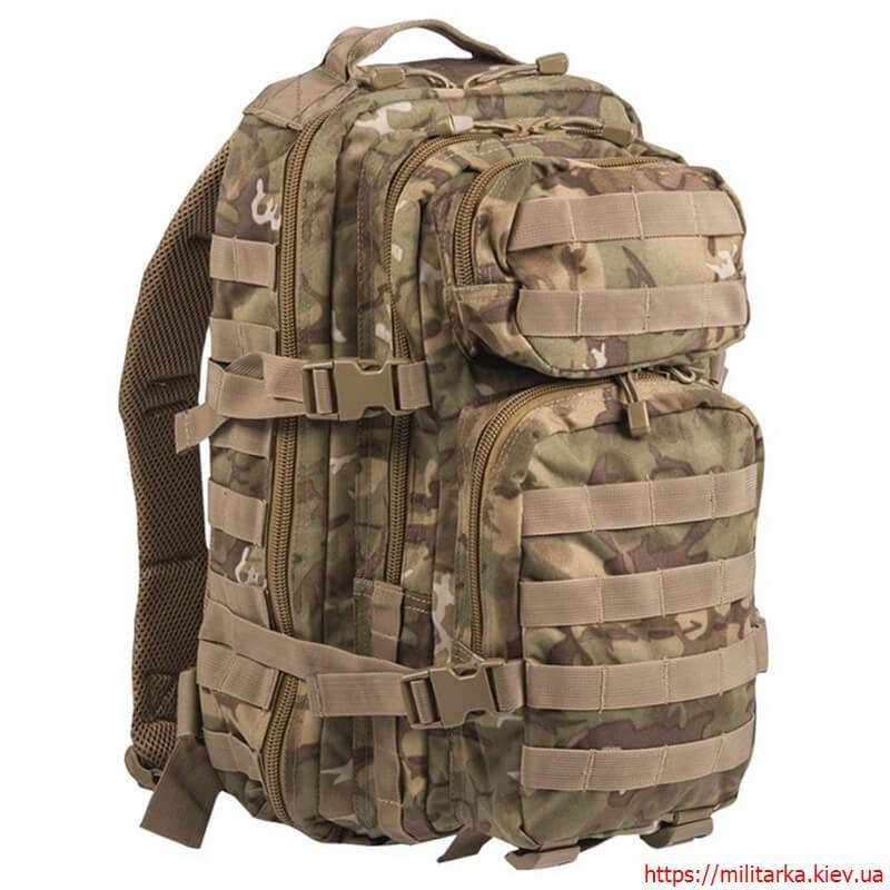 Рюкзак штурмовой малый Mil-Tec 20 л Woodland Arid