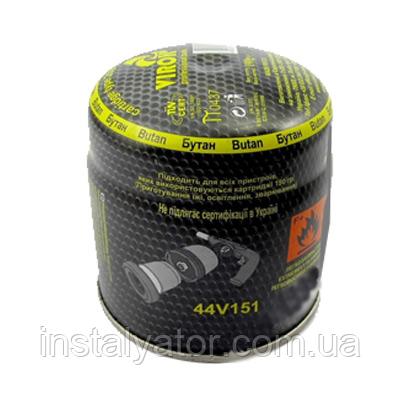 Картридж пропан-бутан 190г для паяльной лампы Virok 44V141   44V142