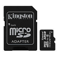 Карта памяти Kingston 32GB microSD class 10 UHS-I Industrial (SDCIT/32GB)