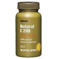 Витамин Е Natural E 200 IU100 soft caps