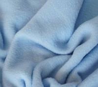 Флис однотонный  светло-голубого цвета №-ф9